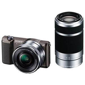 ILCE-5100Y-T【税込】 ソニー デジタル一眼カメラ「α5100」ダブルズームレンズキ…
