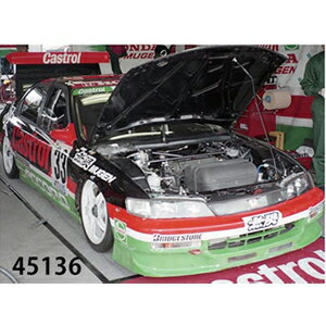 車, ミニカー・トイカー 143 CASTROL MUGEN ACCORD JTCC 1996 No.3345136 EBBRO