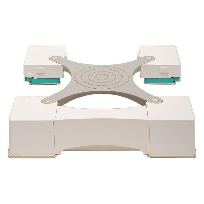 MM6-WG701 新生産業 64cm角防水パン専用洗濯機かさ上げ台(ホワイト) マルチメゾン [MM6WG701]【返品種別A】【送料無料】