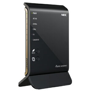PA-WG1800HP2【税込】 NEC 11ac対応 1300+450Mbps 無線LANルータ(親機単体) Aterm WG1800HP2 [PAWG1800HP2]【返品種別A】【送料無料】【RCP】