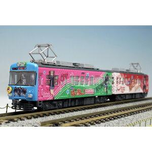 [鉄道模型]プラッツ 1/150 京阪600形 映画「けいおん!」ラッピング電車(2輌セット) 完成品画像