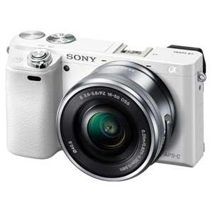 ILCE-6000L-W ソニー ミラーレス一眼カメラ「α6000」パワーズームレンズキット(ホワイト)