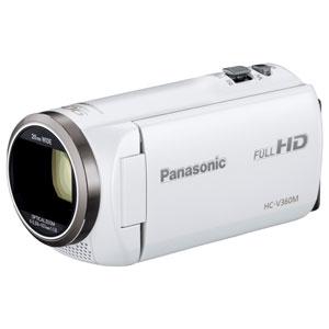HC-V360M-W【税込】 パナソニック デジタルハイビジョンビデオカメラ「HC-V360M」(ホワイト) [HCV360MW]【返品種別A】【送料無料】【RCP】