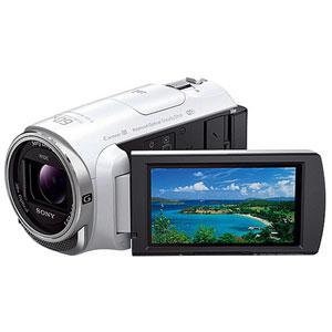 HDR-PJ670-W【税込】 ソニー デジタルHDビデオカメラレコーダー「HDR-PJ670」(ホワイト)※内蔵メモリー32GB [HDRPJ670W]【返品種別A】【送料無料】【RCP】