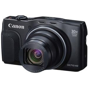 PSSX710HS(BK)【税込】 キヤノン デジタルカメラ「PowerShot SX710 HS」(ブラック) Canon PowerShot SX710HS [PSSX710HSBK]【返品種別A】【送料無料】【RCP】