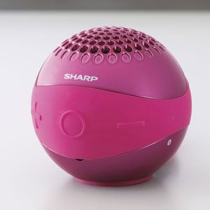 WS-BL1-P シャープ Bluetooth対応ワイヤレススピーカーシステム(ピンク) SHARP [WSBL1P]