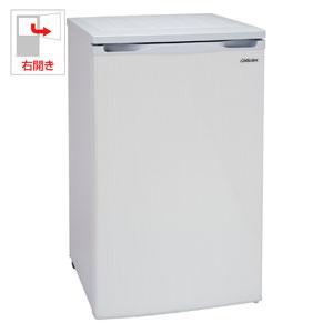 ACF-110E アビテラックス 100L 冷凍庫(フリーザー)直冷式 ホワイトストライプ Abitelax [ACF110E]【返品種別A】【送料無料】(標準設置無料)
