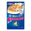 Joshin web 家電とPCの大型専門店で買える「コンボ キャット 海の味わいスープ まぐろとかにかまとしらす添え 40g 日本ペットフード CA1コンボス-プカニカマ40G」の画像です。価格は81円になります。