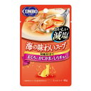 Joshin web 家電とPCの大型専門店で買える「コンボ キャット 海の味わいスープ おいしい減塩 まぐろとかにかまとしらす添え 40g 日本ペットフード CA7ス-プゲンエンカニカマ40G」の画像です。価格は81円になります。