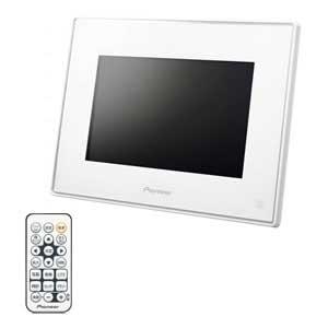 HF-T750-W パイオニア 7型デジタルフォトフレーム(ホワイト) [HFT750W]【返品種別A】【送料無料】