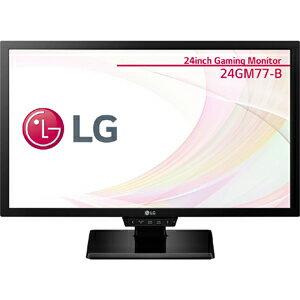 24GM77-B【税込】 LG 24型ワイド液晶ディスプレイ ゲーミングモデル(フリッカーセーフ機能搭載)(ブルーライト低減機能搭載) GM77シリーズ [24GM77B]【返品種別A】【送料無料】【RCP】