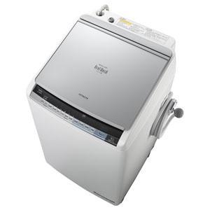 BW-D8WV-S【税込】 日立 8.0kg 洗濯乾燥機 シルバー HITACHI ビートウォ…