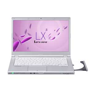 CF-LX4KD9BR【税込】 パナソニック モバイルパソコン Let's note LXシリーズ (シルバー)(Office Home & Business Premium搭載) [CFLX4KD9BR]【返品種別A】【送料無料】【RCP】