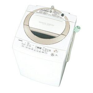 AW-8D3M-N【税込】 東芝 8.0kg 全自動洗濯機 サテンゴールド TOSHIBA マ…