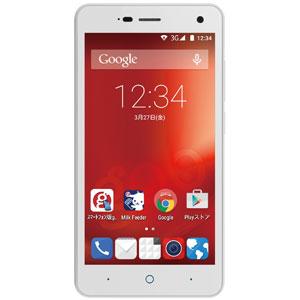 K-410(G01)-W【税込】 ZTE SIMフリースマートフォン g01 ZTE Blade L3(パールホワイト) [K410G01W]【返品種別B】【送料無料】【RCP】