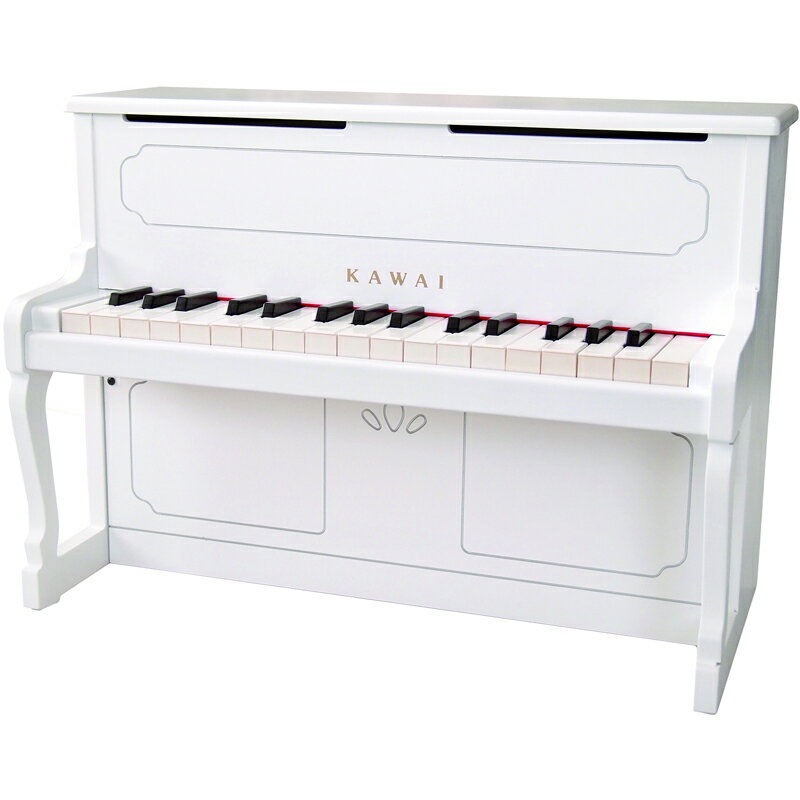 1152 カワイ ミニピアノ(ホワイト) KAWAI アップライトピアノタイプ [1152アプライトピアノホワイト]【返品種別A】【送料無料】