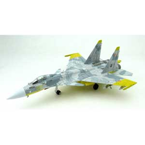 【再生産】1/144 技MIX Su-37 黄色13 エルジア空軍 第156戦術戦闘航空団アク…