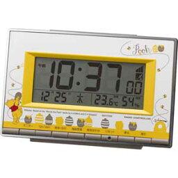 アラームデジタル クマノプーサン リズム 電波目覚まし時計 【くまのプーさん】 8RZ133MC08 [アラムデジタルクマノプサン]【返品種別A】