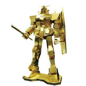 メタリックナノパズル プレミアムシリーズゴールド 機動戦士ガンダム(機動戦士ガンダム) 【税込…