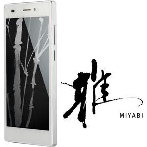 FTJ152C-MIYABI-WH【税込】 フリーテル SIMフリースマートフォン 「SAMU…