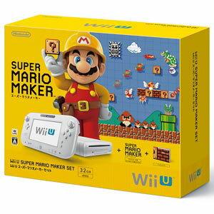 【Wii U】Wii U スーパーマリオメーカー セット 【税込】 任天堂 [WUP-S-WA…