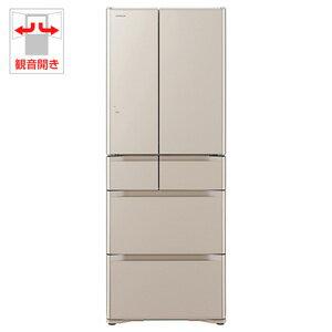 R-G5200F-XN【税込】 日立 517L 6ドア冷蔵庫(クリスタルシャンパン) HITA…