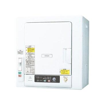 DE-N60WV-W 日立 6.0kg 衣類乾燥機 HITACHI これっきりボタン [DEN60WVW]【返品種別A】
