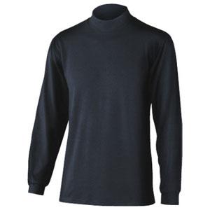 おたふく手袋 BODY TOUGHNESS サーモ ハイネックシャツ JW-149 ブラックL