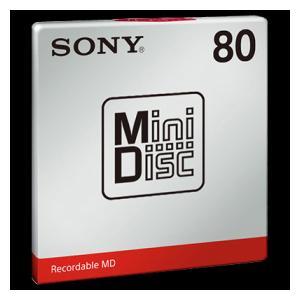 録画・録音用メディア, ミニディスク MDW80T 80MD1 SONY