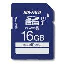 RSDC-016GU1S/N バッファロー SDHCメモリーカード 16GB Class10 UHS-1