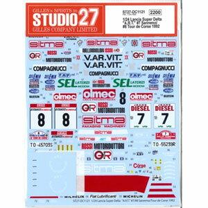 車・バイク, その他 124 Lancia Super Delta A.R.T. 7 Sanremo8 Tour de Corse 1992 DC1121 27