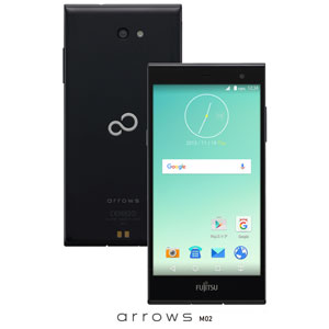 FARM0600D(M02クロ)【税込】 富士通 SIMフリースマートフォン arrows M…