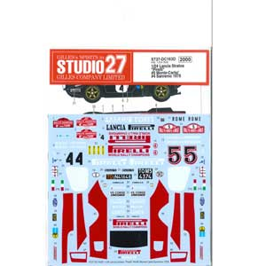 車・バイク, レーシングカー 124 5 4 1978 ST27-DC163D 27