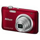 A100RD ニコン デジタルカメラ「COOLPIX A100」(レッド)