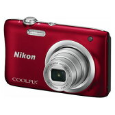 A100RD【税込】 ニコン デジタルカメラ「COOLPIX A100」(レッド) [A100RD]【返品種別A】【送料無料】【RCP】