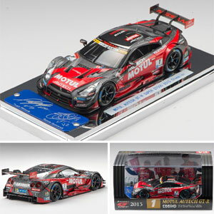 車, ミニカー・トイカー 143 MOTUL AUTECH GT-R SUPER GT500 2015 Champion Car No.145350 EBBRO