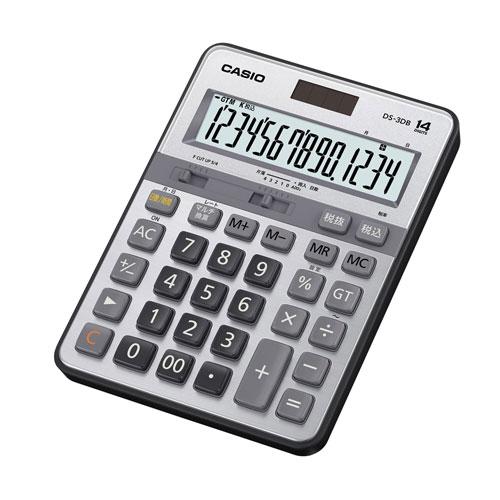 CASIO(カシオ)『本格実務電卓 デスクタイプ DS-3DB』