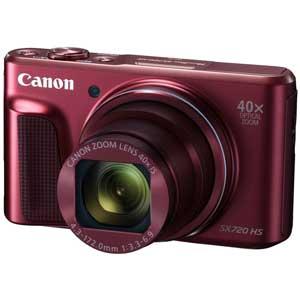 PSSX720HS(RE) キヤノン デジタルカメラ「PowerShot SX720 HS」(レッド) [PSSX720HSRE]【返品種別A】【送料無料】