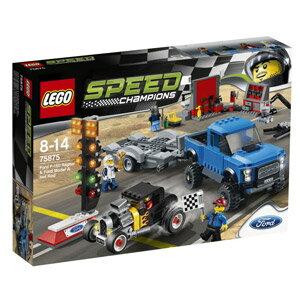 レゴ(R)スピードチャンピオン フォード F-150 ラプター&フォードモデル A ホットロッ…