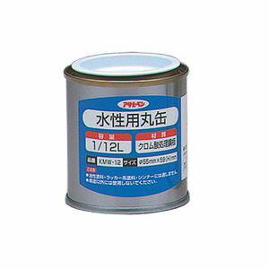 アサヒペン アサヒペン 水性用丸缶1/12L 222800 1缶 778-4082