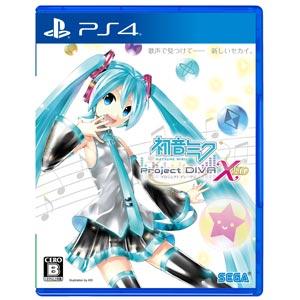【特典付】【PS4】初音ミク -Project DIVA- X HD 【税込】 セガゲームス …