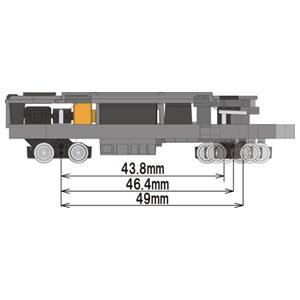 鉄道模型, 車両パーツ  (N) TM-TR04