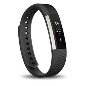 FB406BKL-JPN フィットビット ウェアラブル活動量計・睡眠計(ブラック/Lサイズ) Fitbit ...