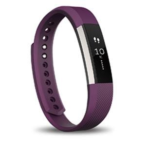 FB406PML-JPN フィットビット ウェアラブル活動量計・睡眠計(プラム/Lサイズ) Fitbit Al...