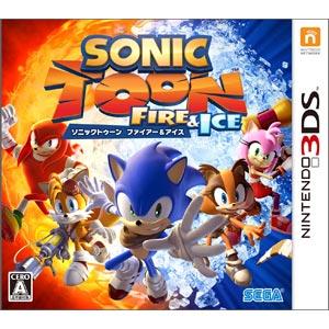 【封入特典付】【3DS】ソニックトゥーン ファイアー&アイス 【税込】 セガゲームス [CTR…
