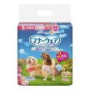 マナーウェア 女の子用 Sサイズ 小型犬用 ピンクリボン・青リボン 36枚 ユニ・チャーム マナ-オンナノコヨウS36マイ その1