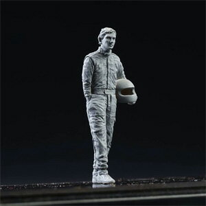 """1/43""""DIVE NINE"""" Figure Series Driver Type A.S with Helmet【R043-0002】 モデルファクトリーヒロ画像"""