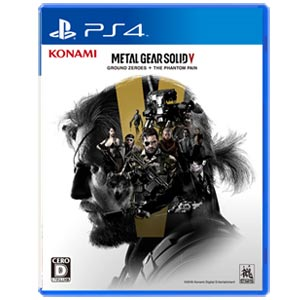 【PS4】METAL GEAR SOLID V: GROUND ZEROES + THE PH…