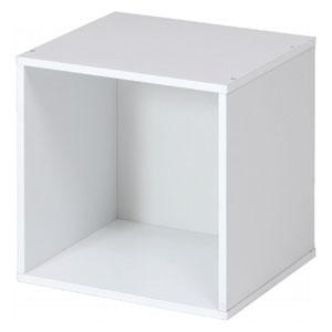 CB35OP(WH) 不二貿易 キューブボックス(ホワイト) 81901