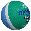 MT-SLD1MSK モルテン ドッジボール Molten ライトドッジボール 軽量 1号球 緑xサックス